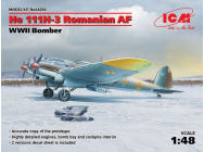 He 111H-3 Romanian AF, WWII Bomber - 1:48e - ICM - 48266