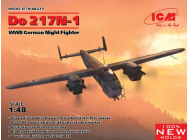 Do 217N-1,WWII German Night Fighter (100% new molds)- 1:48e - ICM - 48271