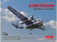 A-26B-15 Invader,WWII American Bomber - 1:48e - ICM - 48282
