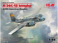 A-26-15 Invader, WWII American Bomber - 1:48e - ICM - 48283