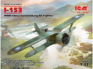 I-153, WWII China Guomindang AF Fighter - 1:32e - ICM - 32012