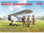 Stearman PT-17 with American Cadets - 1:32e - ICM - 32051