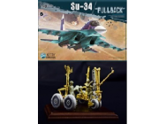 Su-34  Fullback  With metal parts - 1:48e - Kitty Hawk - KH80141VER2.0