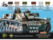 Finnish WWII tanks - e - Lifecolor - XS08