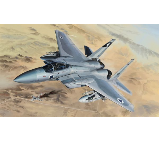 F-15B/D Israeli Air Force&U.S.Air Force2 - 1:48e - Lion Roar-GreatwallHobby - L4815
