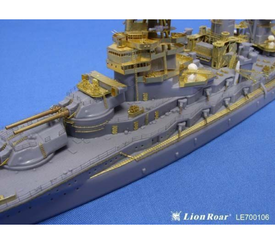 WWII IJN Battleship Nagato for Aoshima - 1:700e - Lion Roar-GreatwallHobby - LE700106