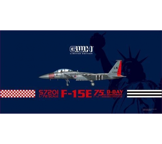 USAF F-15E  D-Day  75th Annversary Limited Items- 1:72e - Lion Roar-GreatwallHobby - S7201