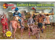 Swedish Army with culverin, 30 years war - 1:72e - Mars Figures - MS72031