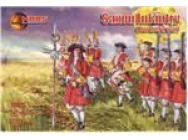 Saxon Infantry, Northern war - 1:72e - Mars Figures - MS72035