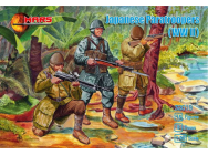 Japanese Paratroopers WWII - 1:32e - Mars Figures - MS32019