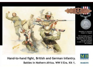 Hand-to-Hand fight, Brit. & Germ. infr. - 1:35e - Master Box Ltd. - MB3592