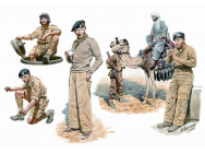 British armored troops Africa - 1:35e - Master Box Ltd. - MB3564