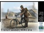French soldier, WWII era - 1:35e - Master Box Ltd. - MB35173