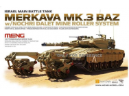 Israel Main Battle Tank Merkava Mk.3 BAZ - 1:35e - MENG-Model - TS-005