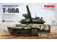 Russian Main Battle Tank T-90A - 1:35e - MENG-Model - TS-006