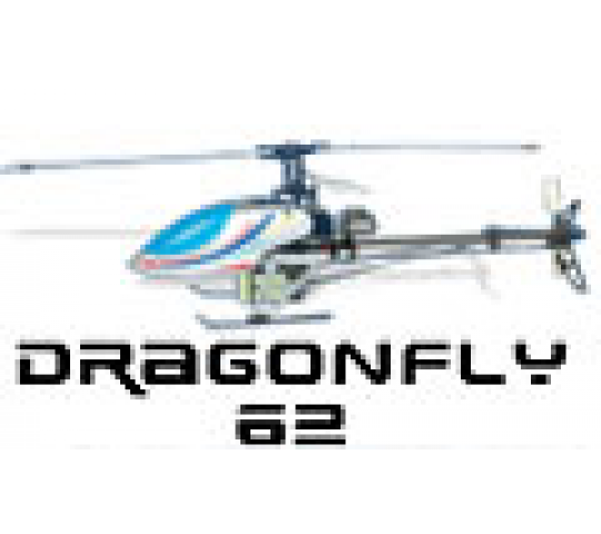 Walkera Dragonfly 62 full pack (41 mhz) - WLK-62-FULL