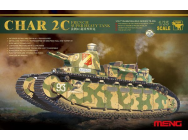 French super heavy tank Char 2C - 1:35e - MENG-Model - TS-009