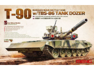 Russian Main Battle Tank T-90 w/TBS-86 - 1:35e - MENG-Model - TS-014
