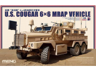 U.S. Cougar 6x6 MRAP Vehicle - 1:35e - MENG-Model - SS-005