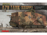 German A7V Tank (Krupp) - 1:35e - MENG-Model - TS-017