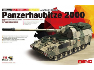 German Panzerhaubitze 2000 Self-Propelle - 1:35e - MENG-Model - TS-019