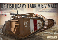 British Heavy Tank Mk. V Male - 1:35e - MENG-Model - TS-020