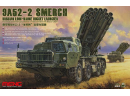 Russian Long-Range Rocket Launcher9A52-2 Smerch- 1:35e - MENG-Model - SS-009