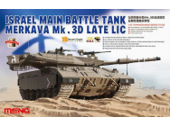 Israel Main Battle Tank Merkava Mk.3D Late Lic- 1:35e - MENG-Model - TS-025