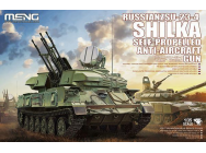 Russian ZSU-23-4 Shilka Self-Propelled Anti-Aircraft Gun- 1:35e - MENG-Model - TS-023