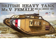 British Heavy Tank Mk.V Female - 1:35e - MENG-Model - TS-029