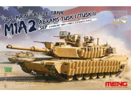 U.S.Main Battle Tank M1A2 SEP AbramsTUSK TUSK I/TUSK II- 1:35e - MENG-Model - TS-026