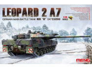 German Main Battle Tank Leopard 2 A7 - 1:35e - MENG-Model - TS-027