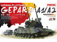 German Flakpanzer Gepard A1/A2 - 1:35e - MENG-Model - TS-030