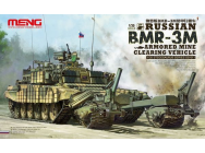 Russian BMR-3M Armored Mine Clearing Veh - 1:35e - MENG-Model - SS-011