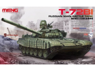 Russian Main Battle Tank T-72B1 - 1:35e - MENG-Model - TS-033