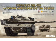 Israel Main Battle Tank merkava Mk.4M w/Trophy Active Protection System- 1:35e - MENG-Model - TS-036