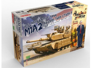 U.S. Main Battle Tank M1A2 SEP Abrams TUSK I/TUSK II Limited Christmas Edit- 1:35e - MENG-Model - TS-026s