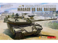 Israel Main Battle Tank Magach 6B GAL BATASH- 1:35e - MENG-Model - TS-040