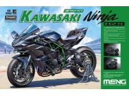 Kawasaki Ninja H2R (Pre-colored Edition) - 1:9e - MENG-Model - MT-001s