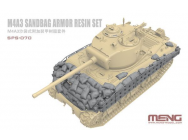 M4A3 Sandbag Armor Set (Resin) - 1:35e - MENG-Model - SPS-070