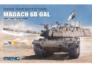 Israel Main Battle Tank Magach 6B GAL - 1:35e - MENG-Model - TS-044