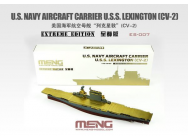U.S. Navy Aircraft Carrier U.S.S. Lexington (Cv-2) Extreme Edition - 1:700e - MENG-Model - ES-007