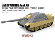 Jagdpanther Ausf. G2 Heavy Tank Destroyer Hull (Travel Mode) (Resin) - 1:35e - MENG-Model - SPS-071