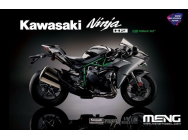 Kawasaki Ninja H2 (Pre-colored Edition) - 1:9e - MENG-Model - MT-002s