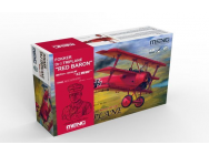 Fokker Dr.I Triplane  Red Baron (incl.one QS-002kit and one 1/10 resin bust) - 1:32e - MENG-Model - QS-002s