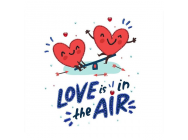 Love is in the air, Perlenstickset - e - Miniart Crafts - 33025