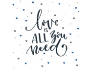 Love is all you need, Perlenstickset - e - Miniart Crafts - 33026