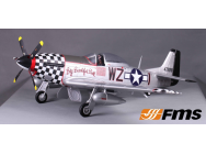 P51 Big Beautiful Doll(V7) PNP kit 1400MM FAMOUS - FMS-FMS088BI