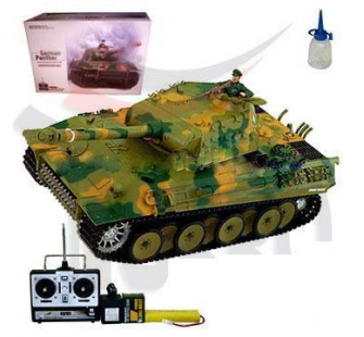 Char Panzer Panther son et fumee 1:16 (3819-1) - AMW-23008