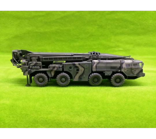 Soviet Army 9P117 Strategic missile launcher SCUD B early type 1970s - 1:72e - Modelcollect - AS72142